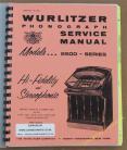 Wurlitzer 2500 Series Manual (1961)