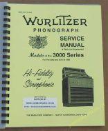 Wurlitzer 3000 Series Service & Parts Manual (1966)