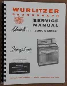 Wurlitzer 3200 Service & Parts Manual (1968)