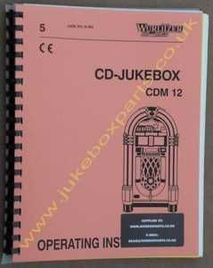 Wurlitzer One More Time - CD Operating Instructions Manual