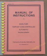 Wurlitzer P10 & P12 Service Manual