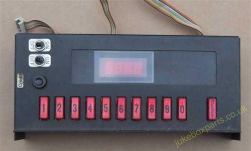 Wurlitzer Hideaway Button Bank (WP87)